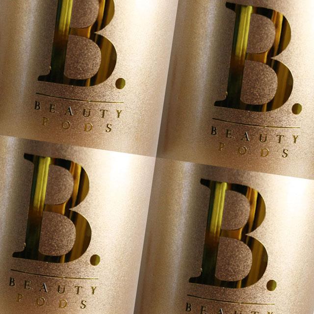 beauty pods metallic foil stickers