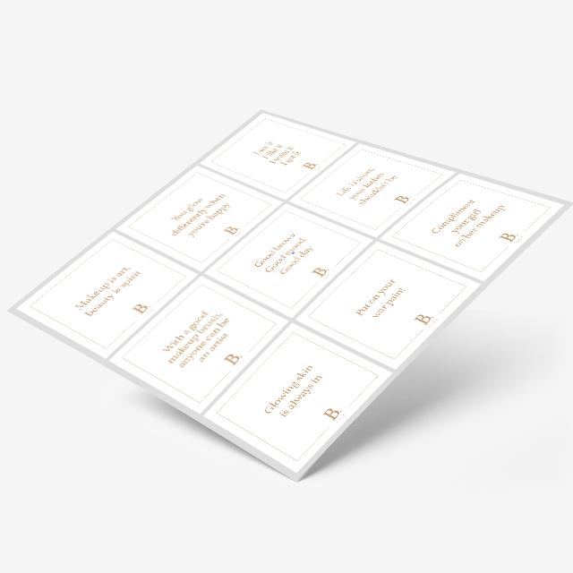 beauty pods social media tile designs
