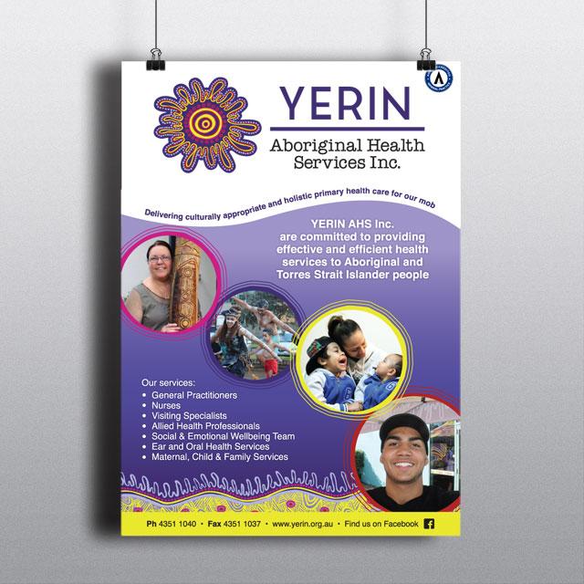 yerin aboriginal poster design