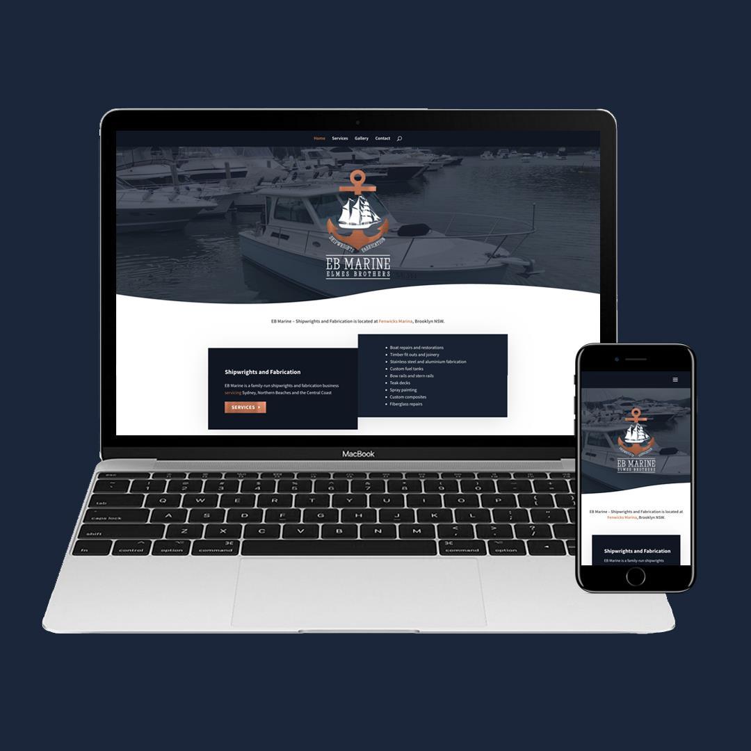 ebmarine website