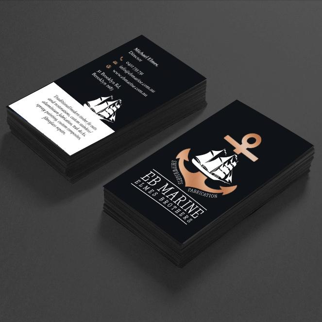 EBMarine business cards