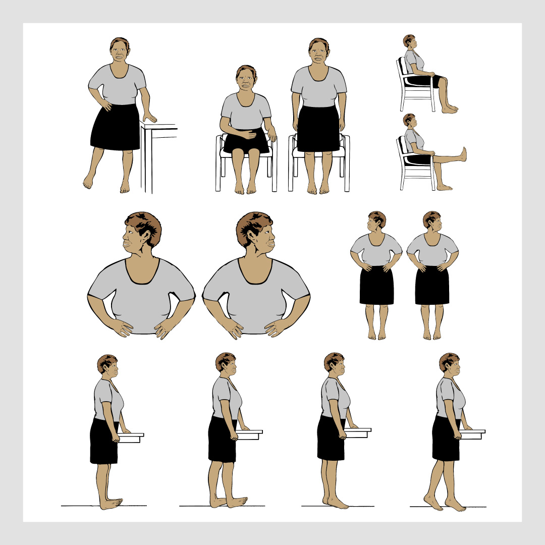 the ironbark project female exercise illustrations