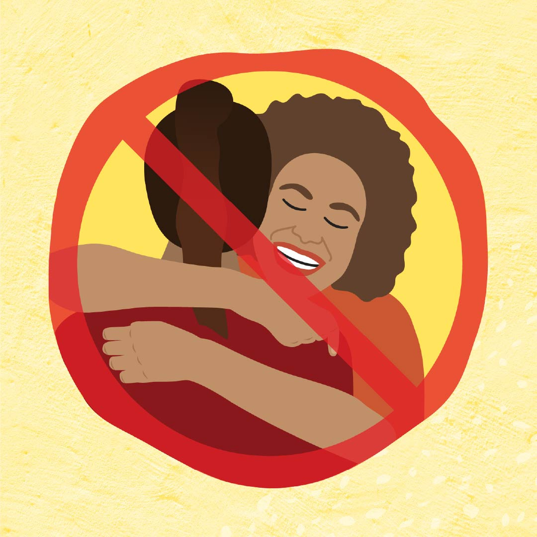 Danila Dilba covid safe no hugging