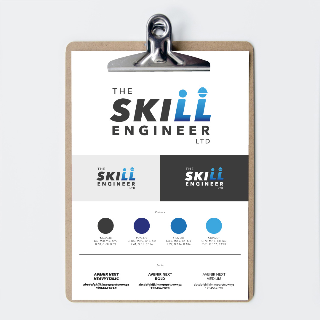 The Skill Engineer logo style guide