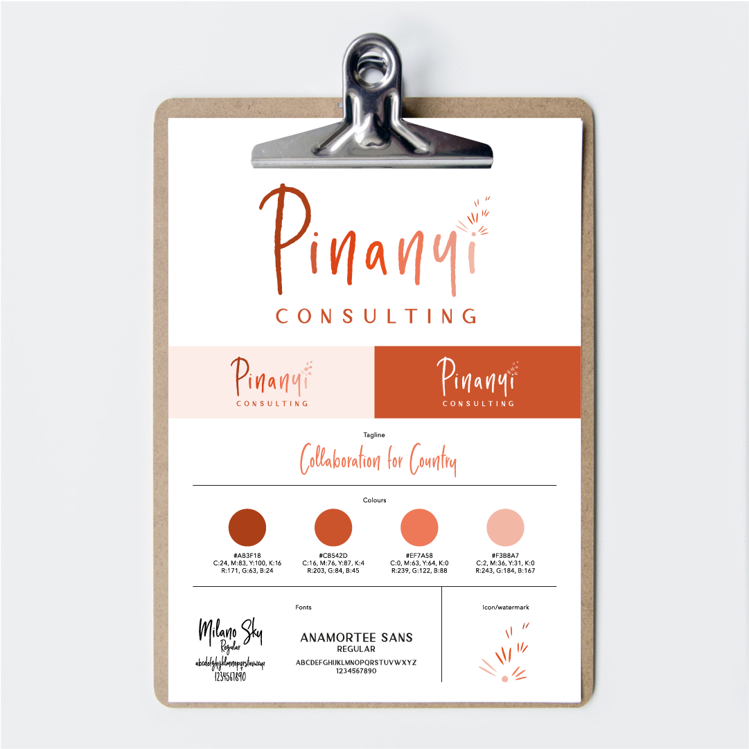 Pinanyi Consulting style guide